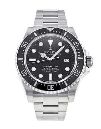Rolex Sea-Dweller 116600 Montre pour homme à cadran noir de 40 mm